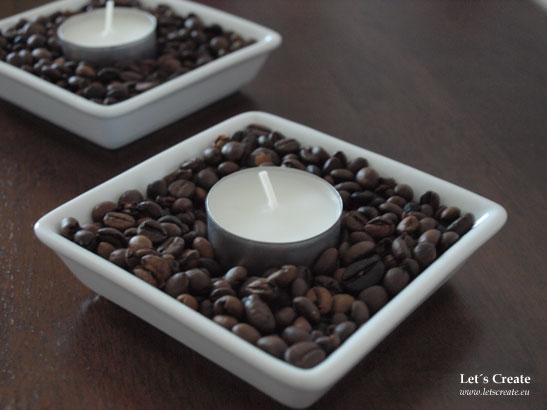Káva jako dekorace