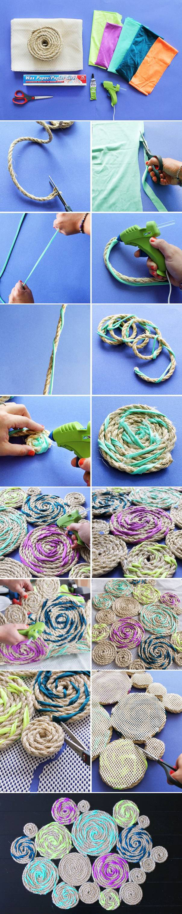 Výroba rohožky