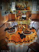 Slavnostní Halloween v kuchyni