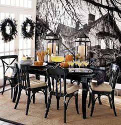 Strašidelný stůl na Halloween - zdroj: Shelterness.com