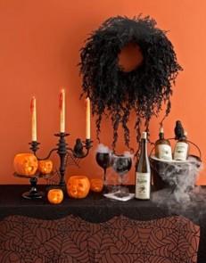 Věnec na Halloween - zdroj: http://bit.ly/digsdigs-halloween