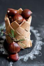 Dekorace z kaštanů - zdroj: Comtesse du Chocolat