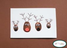 Vánoční přání se soby - zdroj: Meetthedubiens