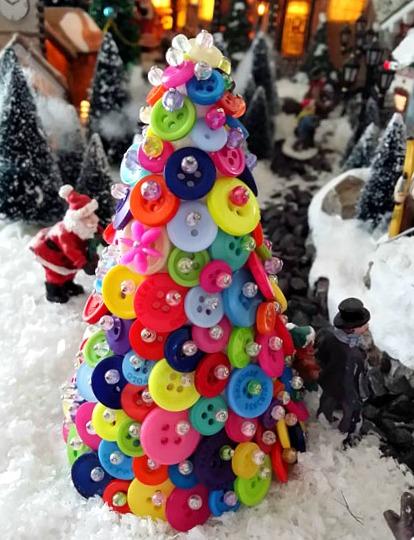 Vánoční stromeček a Santa Claus