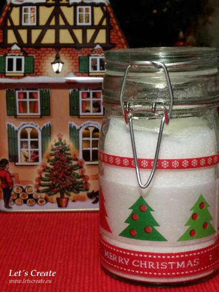 Vánoční cukřenka