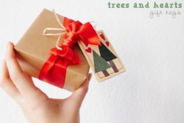 Jmenovka na vánoční dárky