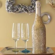 Šampaňské ve zlaté lahvi - zdroj: MadiganMade