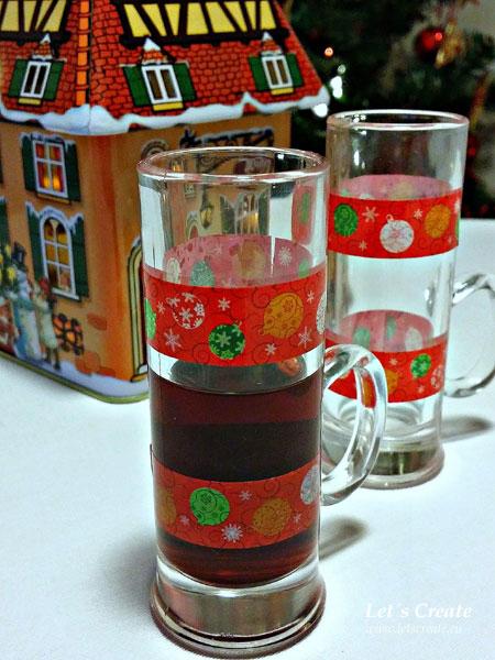 Vánoční sklenička