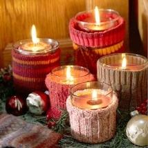 Svíčky s nápletem - zdroj: BHG