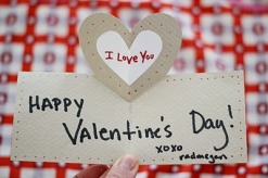 Papírová Valentýnka - zdroj: Radmegan