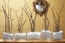 Sněhová zimní dekorace - zdroj: Sugartotdesigns