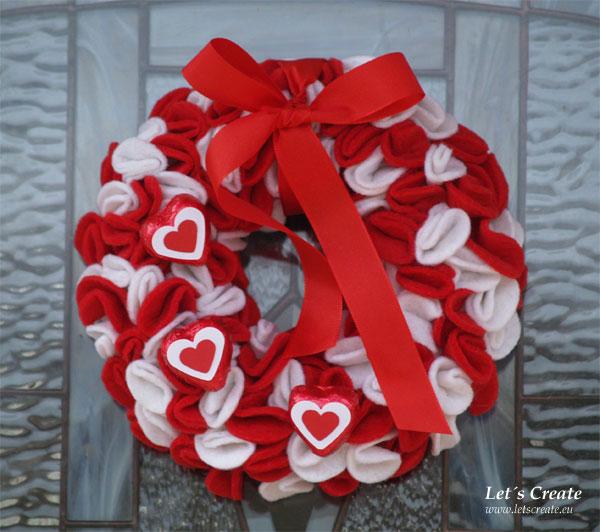 Valentýnský věneček