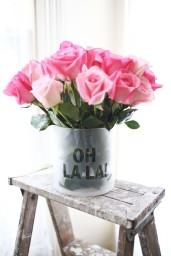 DIY váza - zdroj: aBeautifulMess