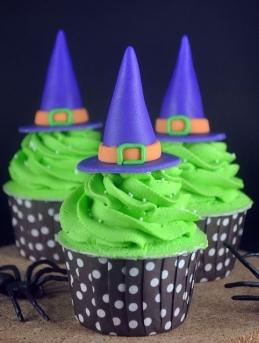 Čarodějnické cupcakes - Zdroj: Indulgy