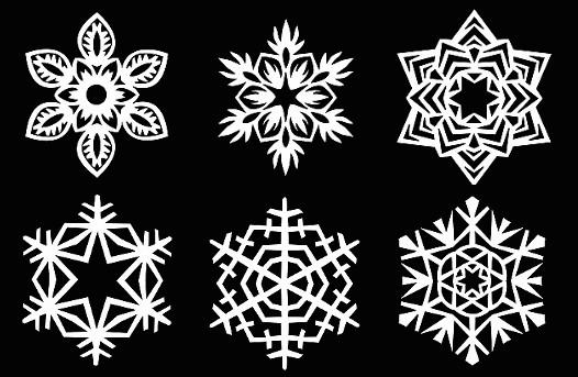 papirova-snehova-vlocka-z-papiru