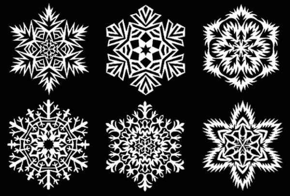 snehove-vlocky-papirove