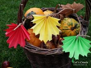 Papírové barvy podzimu