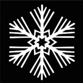 Sněhové vločky z papíru: 50 krásnýchpředloh
